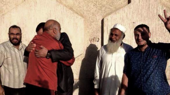 صورة تبادل المحتجزين بين الزاوية وورشفانة