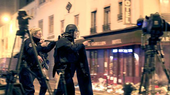 صورة إنذار كاذب يربك باريس