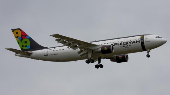 """صورة """"الخرافي"""" وليبيا في صراع حول طائرة القذافي"""