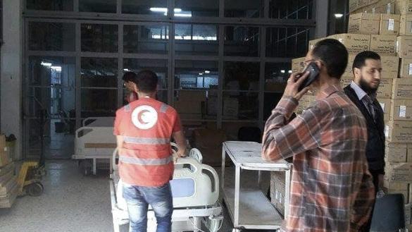 Photo of نقل أسرة لمستشفى الجلاء
