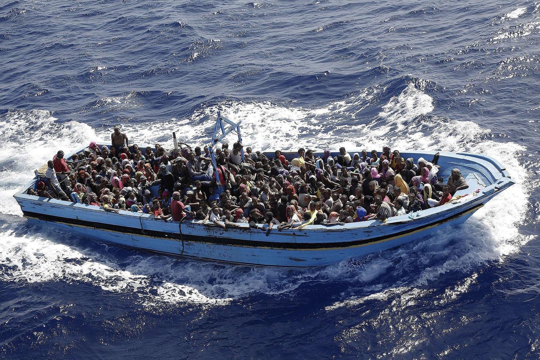 صورة معظم المهاجرين عبر ليبيا لا يريدون أوروبا.. لن تُصدّق