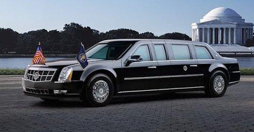 سيارة ترامب الرئاسية