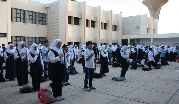 طلاب ليبيا