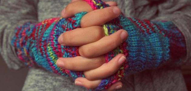 برودة اليدين