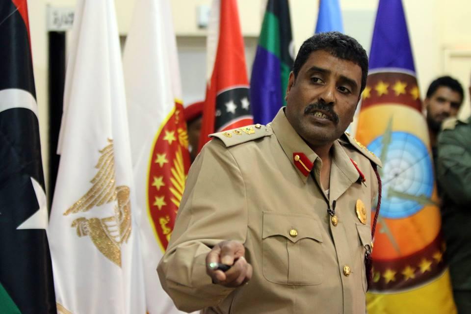 """صورة المسماري: """"المحسوبين"""" على رئاسي الوفاق يعرقلون توحيد المؤسسة"""