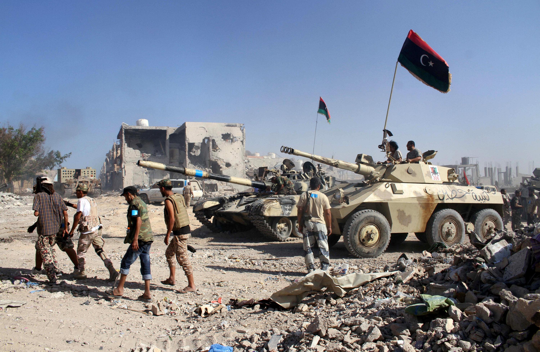 """صورة داعش استسلم بـ""""الجيزة البحرية"""".. وسرت إلى الحضن الليبي"""