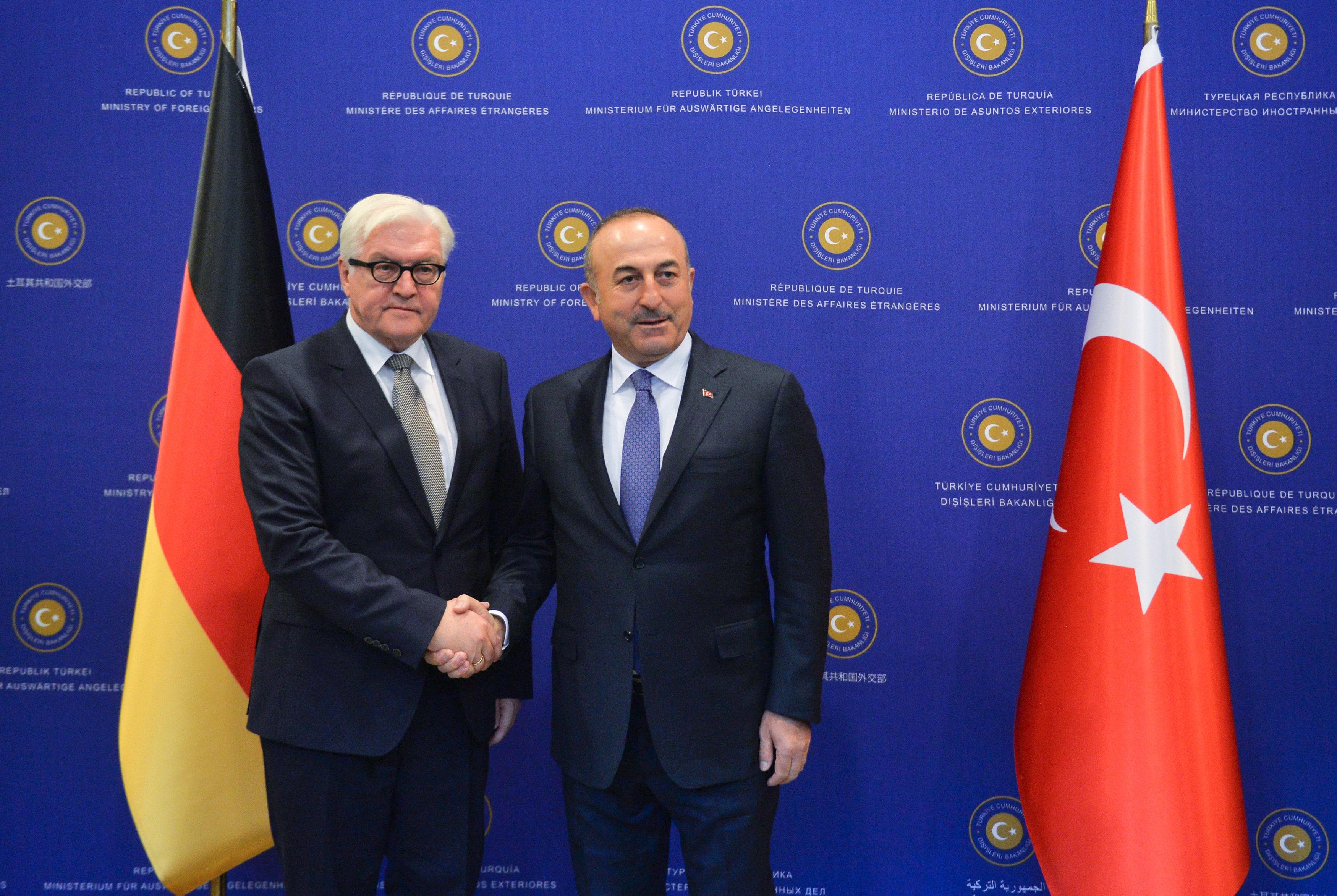 محادثات بين تركيا وألمانيا