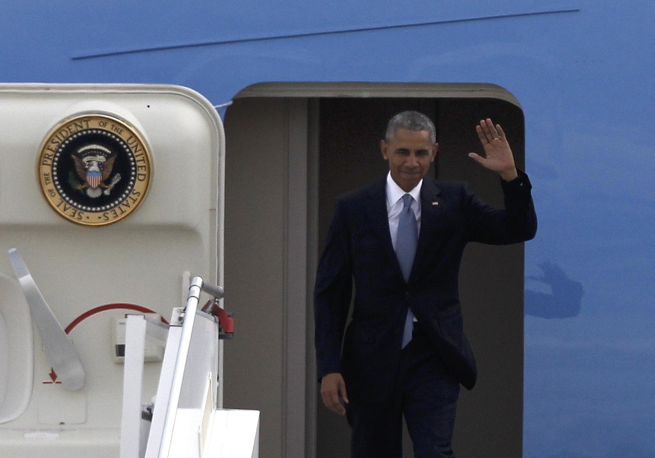"""أوباما يُودّع """"الخارج"""" بآخر زيارة """"رئاسية"""" إلى أوروبا والبيرو"""