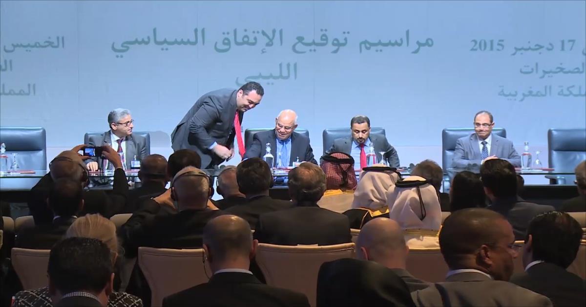 صورة انهيار اتفاق إنقاذ ليبيا