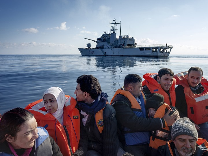 """Photo of استطلاع: """"غالبية"""" المهاجرين كان هدفهم العيش في ليبيا"""