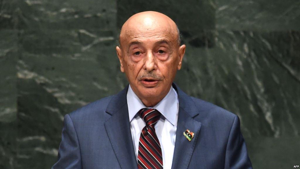 """صورة موقف حاسم من عقيلة ضد مقترح """"رئاسي جديد"""""""