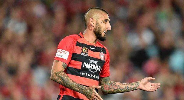 "Photo of ""فرحة مجنونة"" للاعب مغربي بأستراليا بـ""هدف تسلل"". شاهد"
