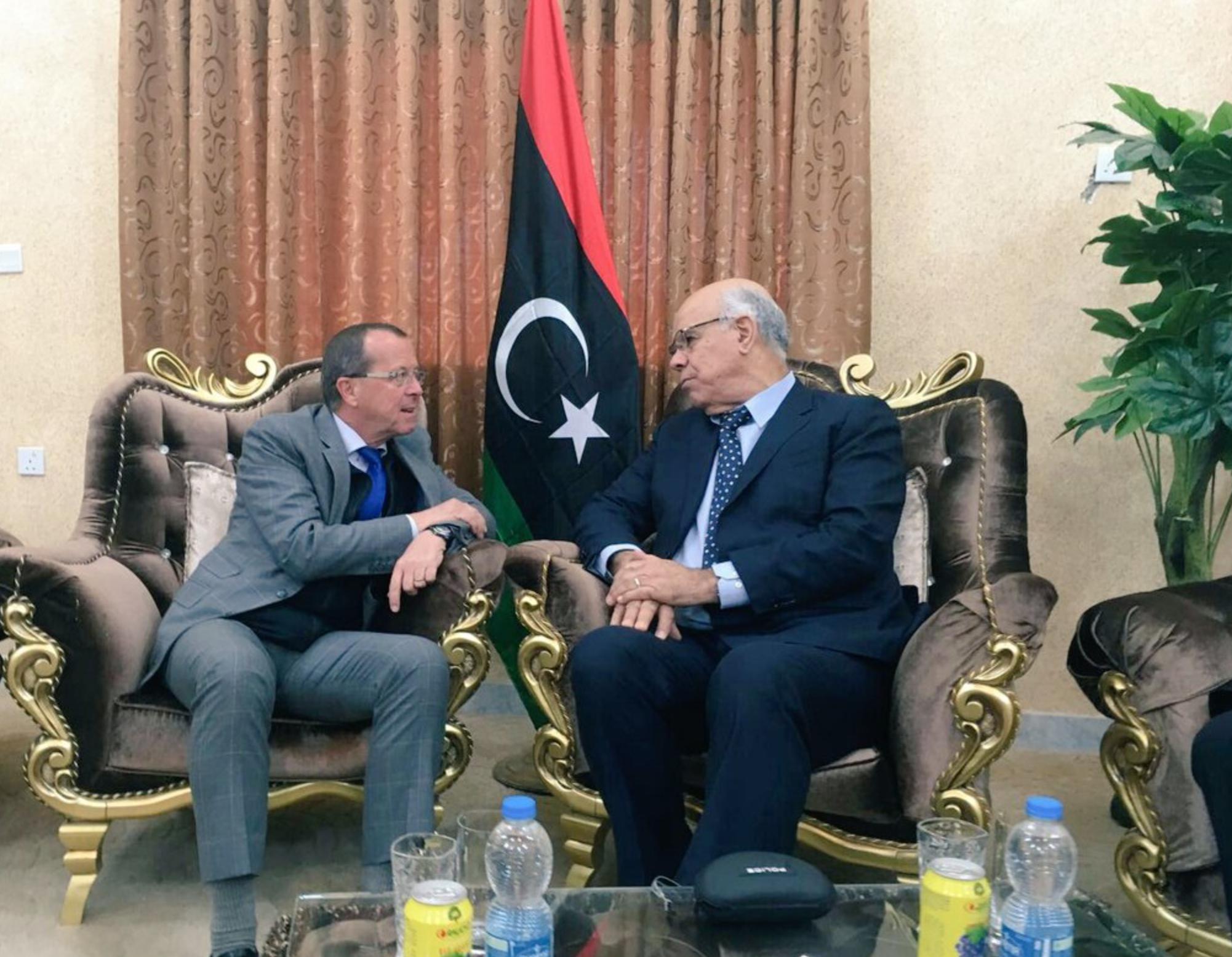 """Photo of لقاء بطبرق بين كوبلر وشعيب ركّز على """"الاتفاق السياسي"""""""