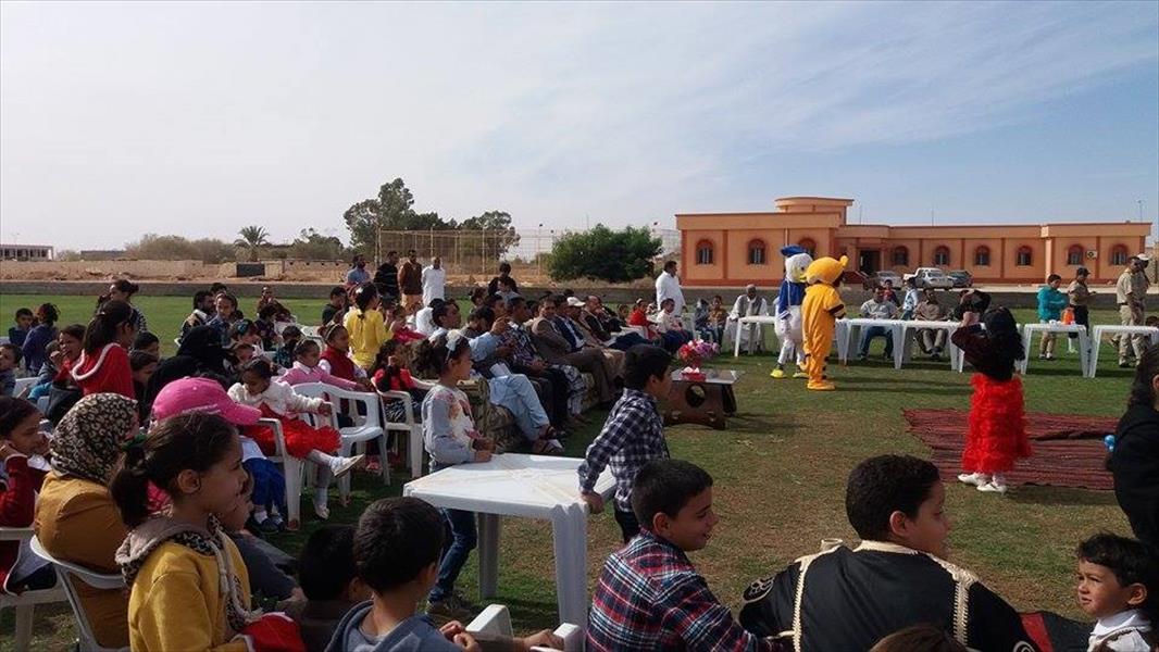 """Photo of """"حفل ترفيهي"""" لأطفال بني وليد والنازحين إليها"""