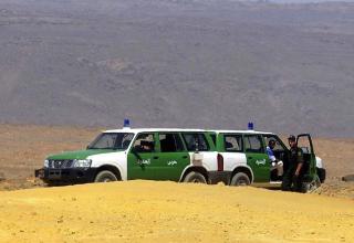 حدود الجزائر وليبيا
