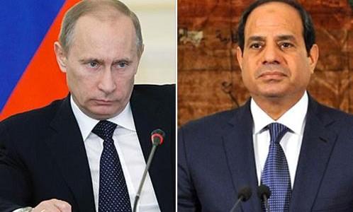 """صورة أزمة ليبيا """"نوقشت"""" في اتصال بين بوتين والسيسي"""