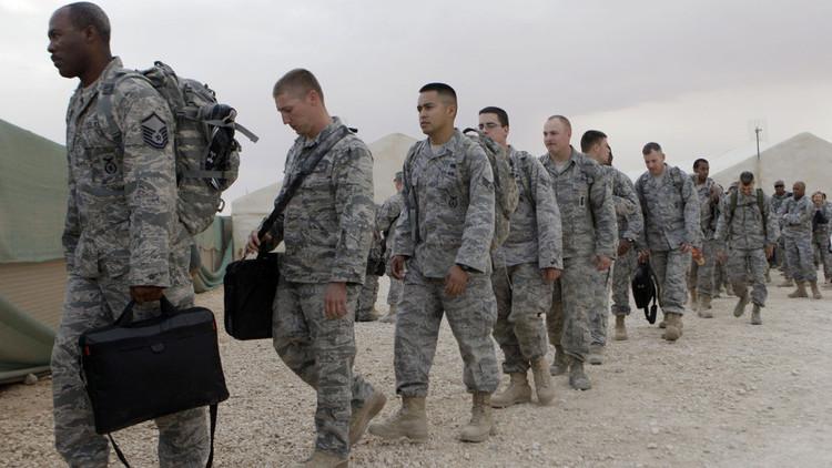"""صورة جنود أميركيون عادوا من ليبيا لـ""""الاحتفال"""".. والعمليات لم تنته"""