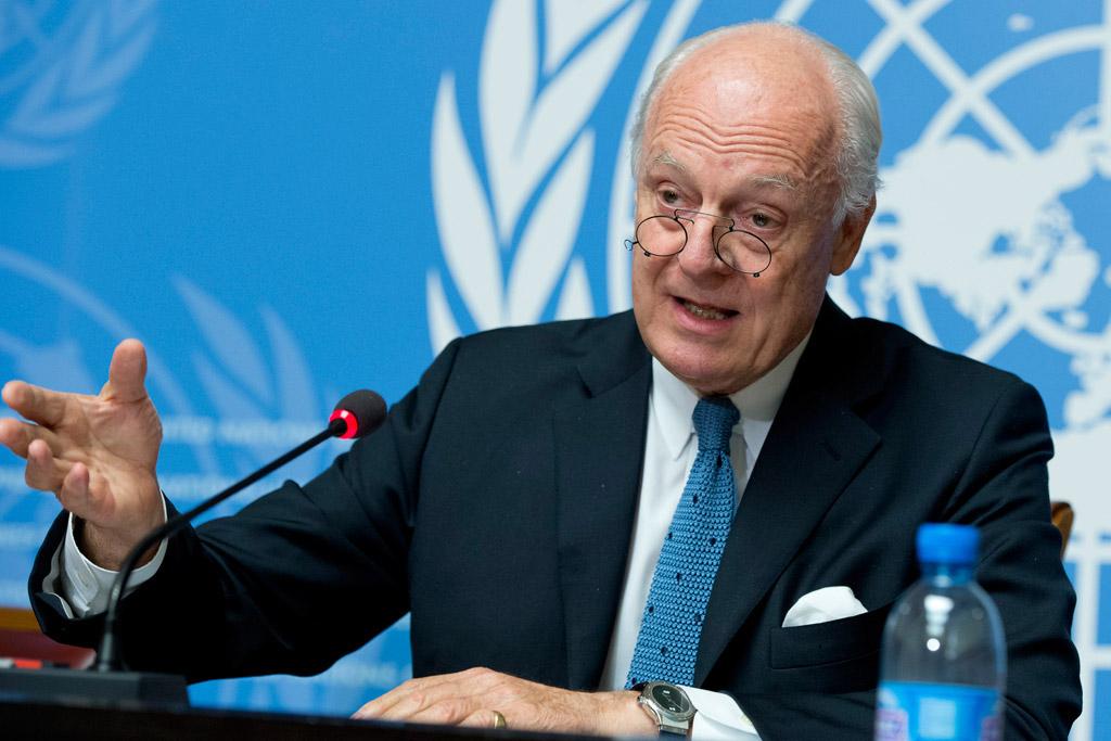 مبعوث الأمم المتحدة الخاص إلى سوريا ستيفان دي ميستورا
