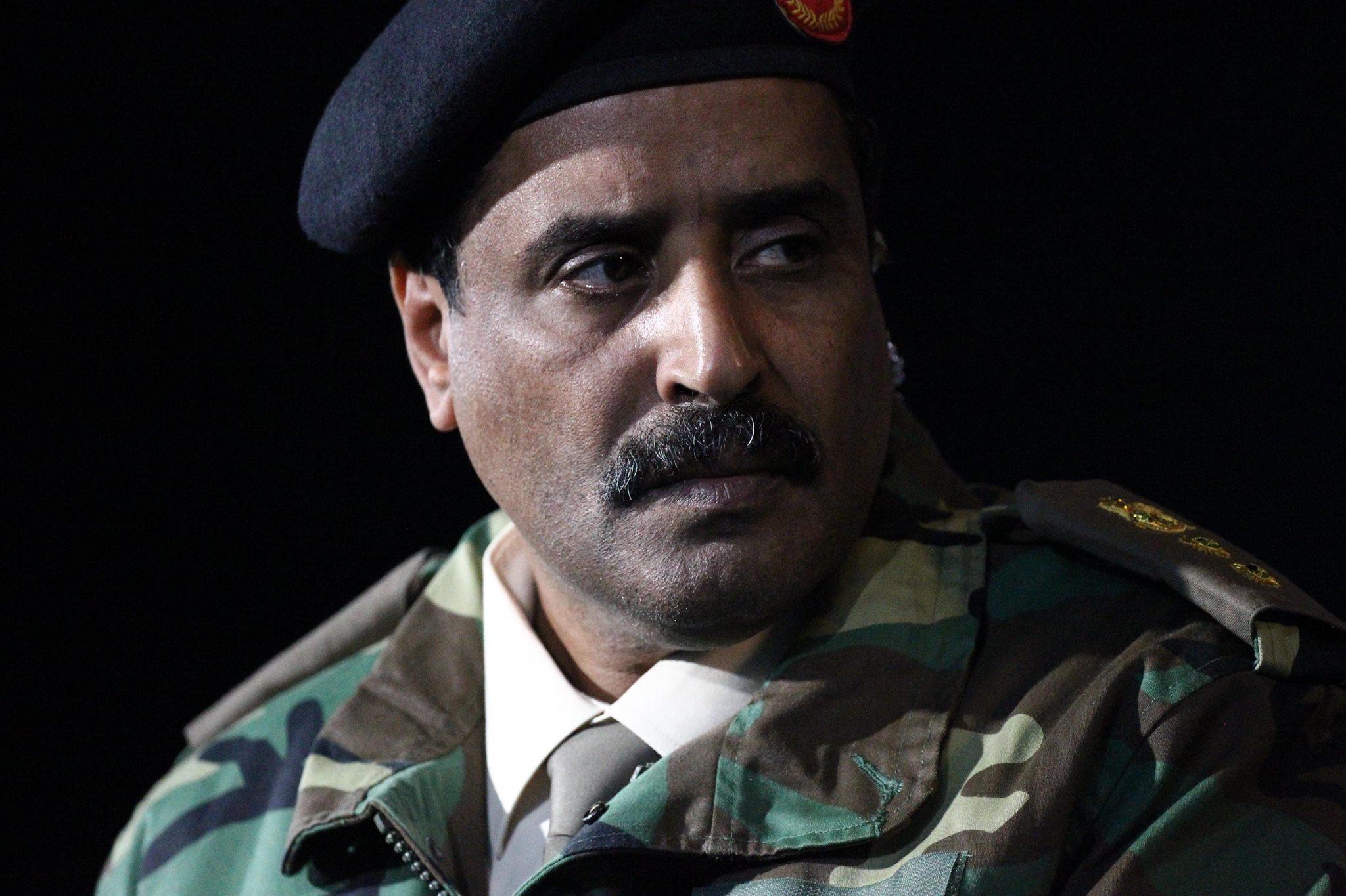 الناطق باسم الجيش الوطني العقيد أحمد المسماري