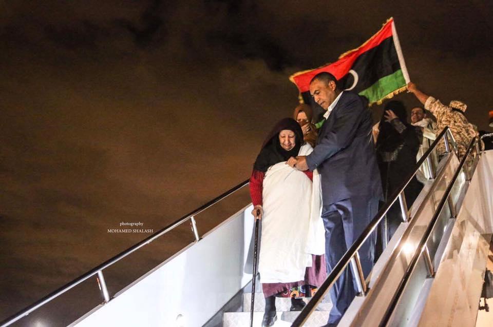 ركاب الطائرة المخطوفة - ليبيا