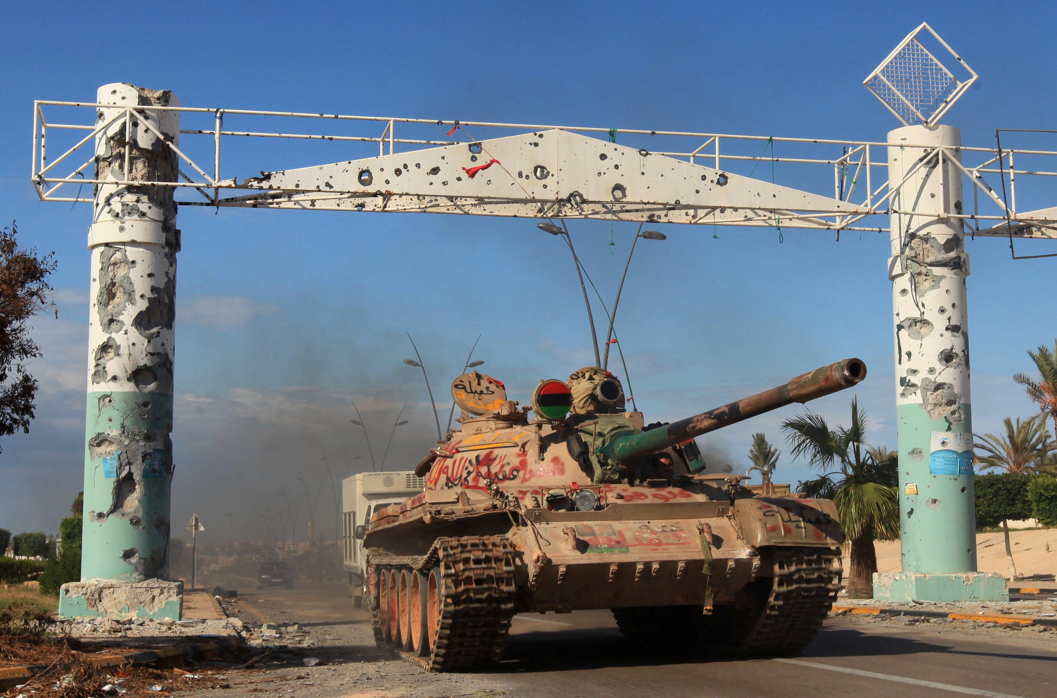 "Photo of ليبيا قد تصبح ""أكثر فوضوية"" بعد دحر داعش في سرت"