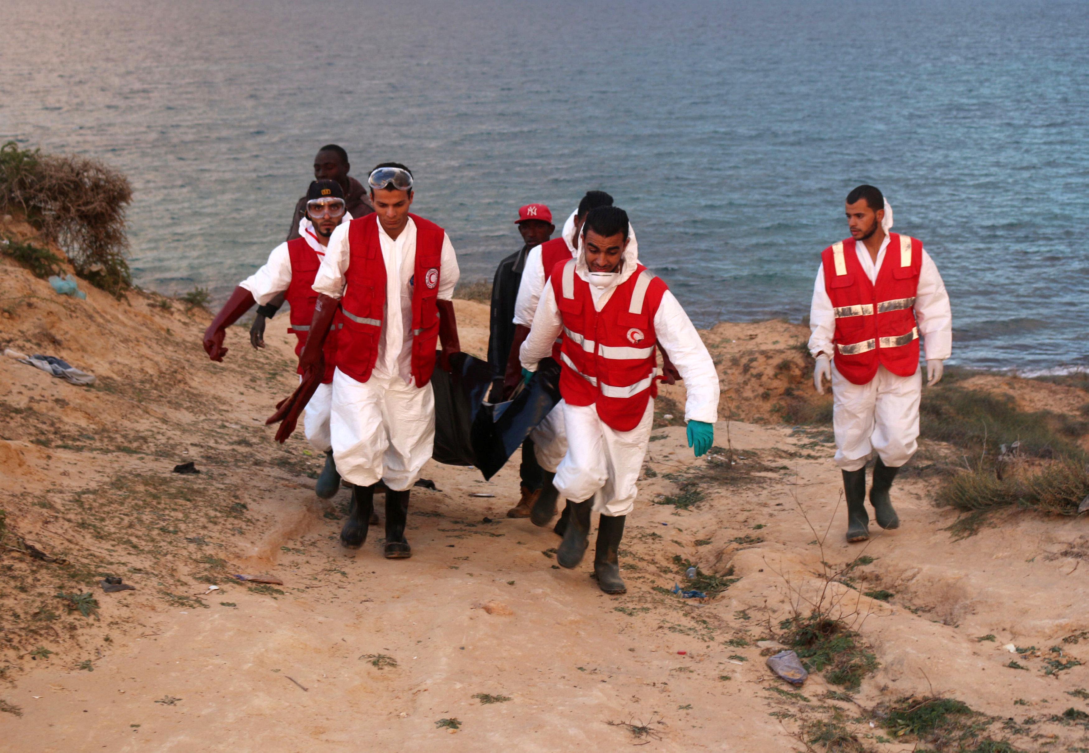 "Photo of إدانة تونسي ""بمقتل 700 مهاجر"" قبالة سواحل ليبيا"