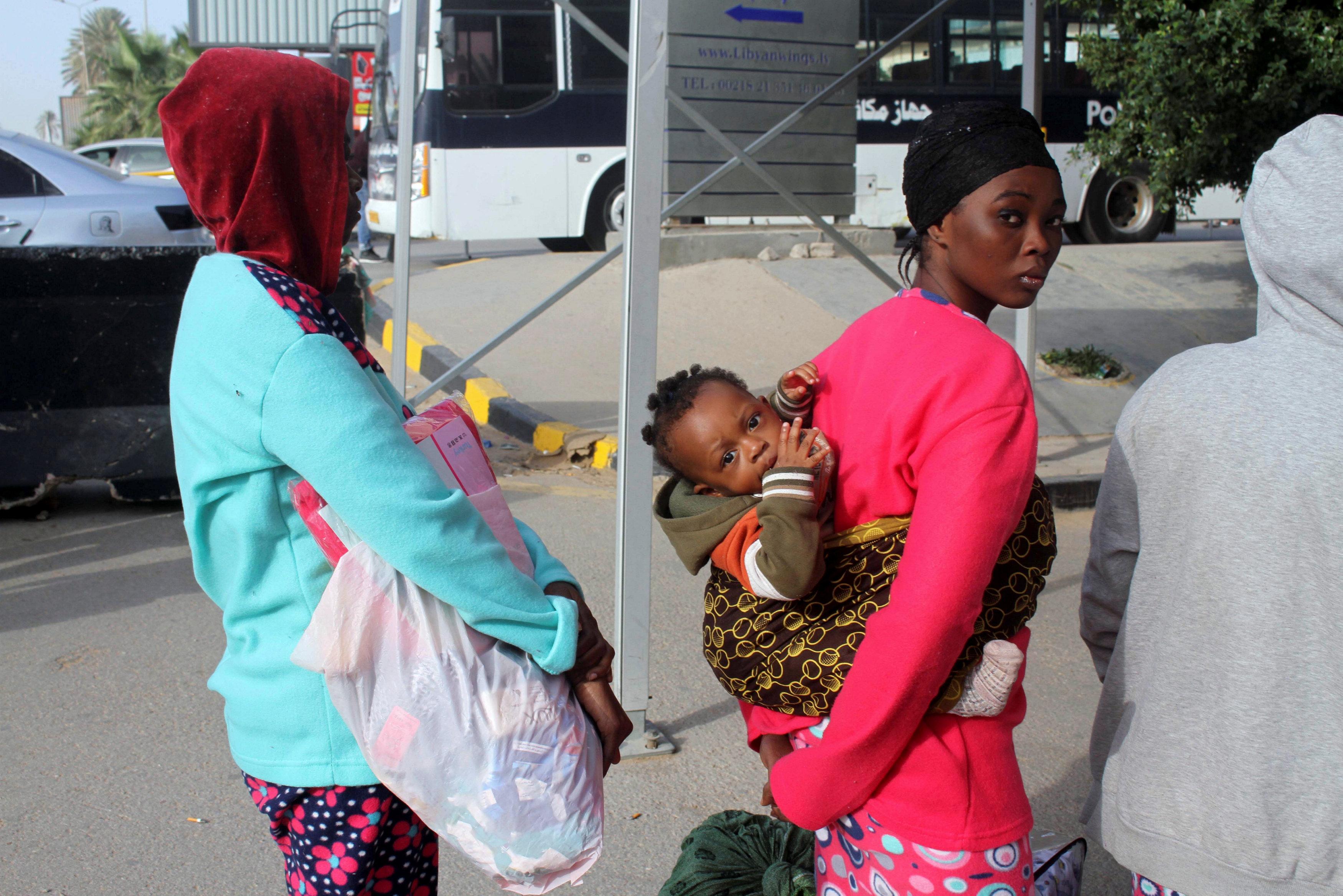 مكافحة الهجرة غير القانونية في طرابلس