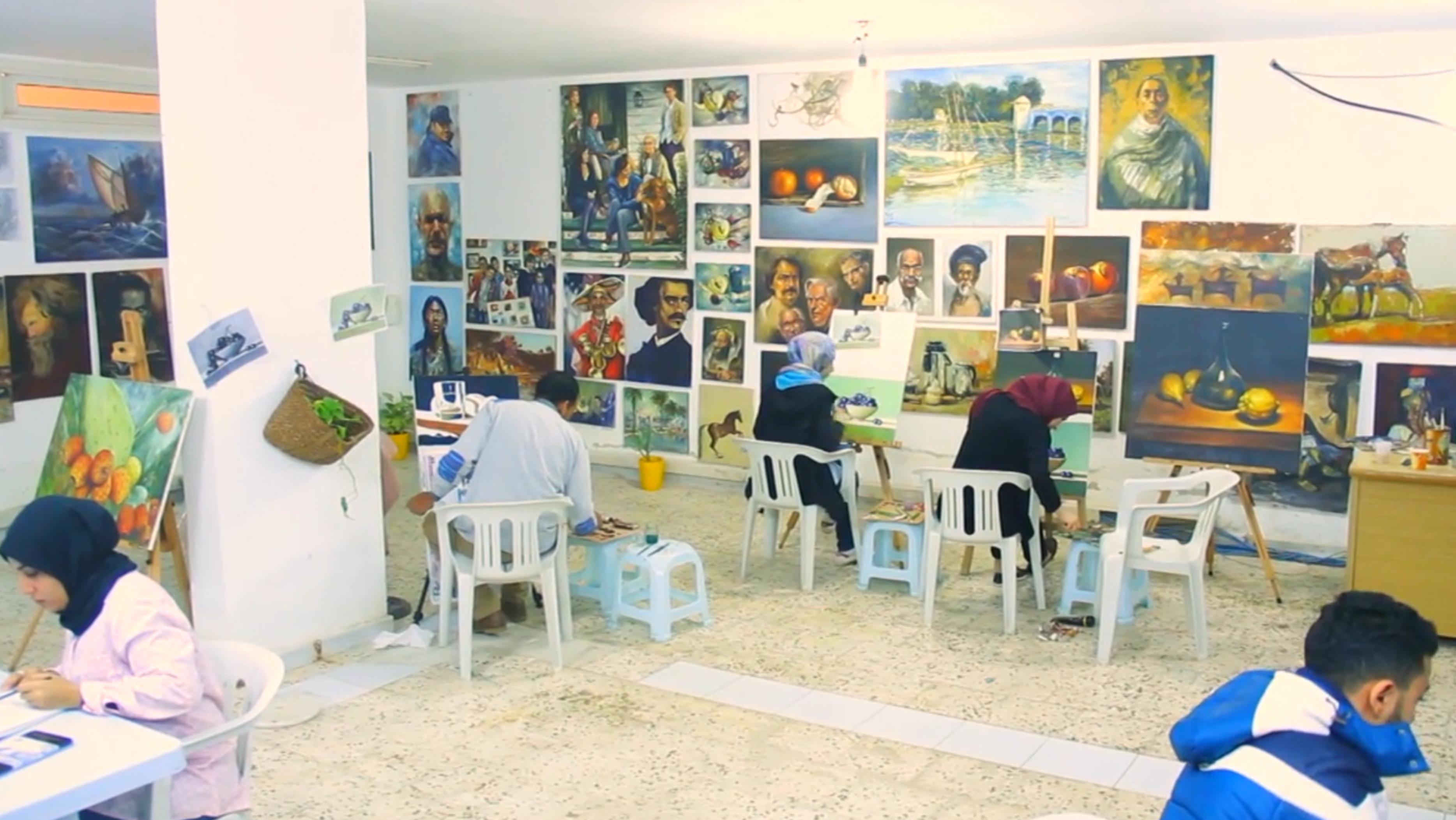 """Photo of نادي """"عوض اعبيدة"""".. تعليم وتوثيق للحركة الفنية"""
