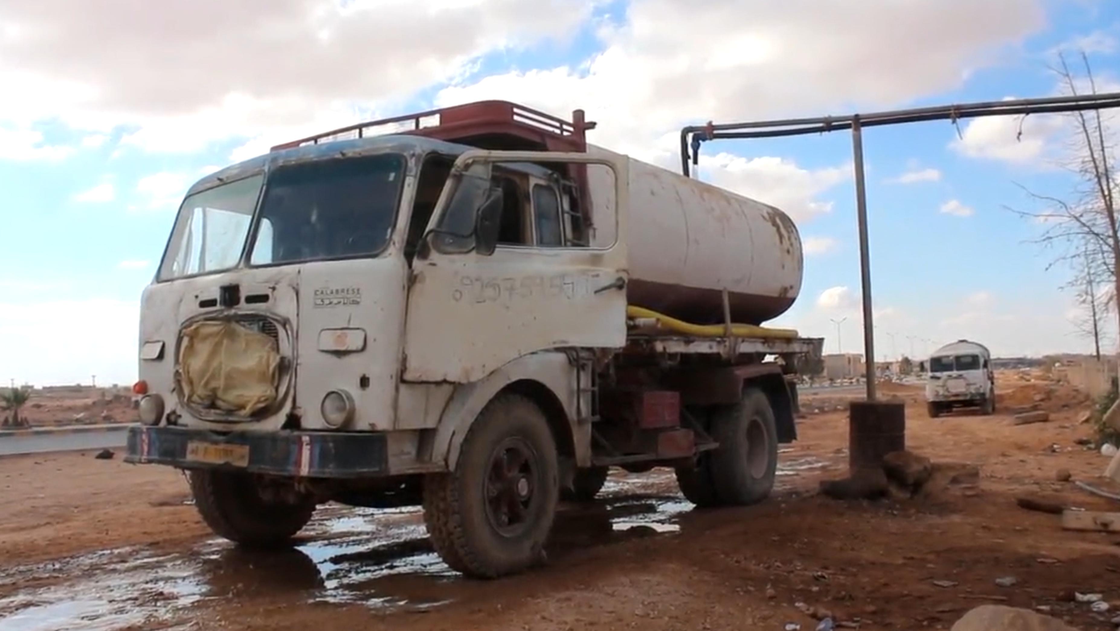 أزمة انقطاع المياه في مدينة بني وليد