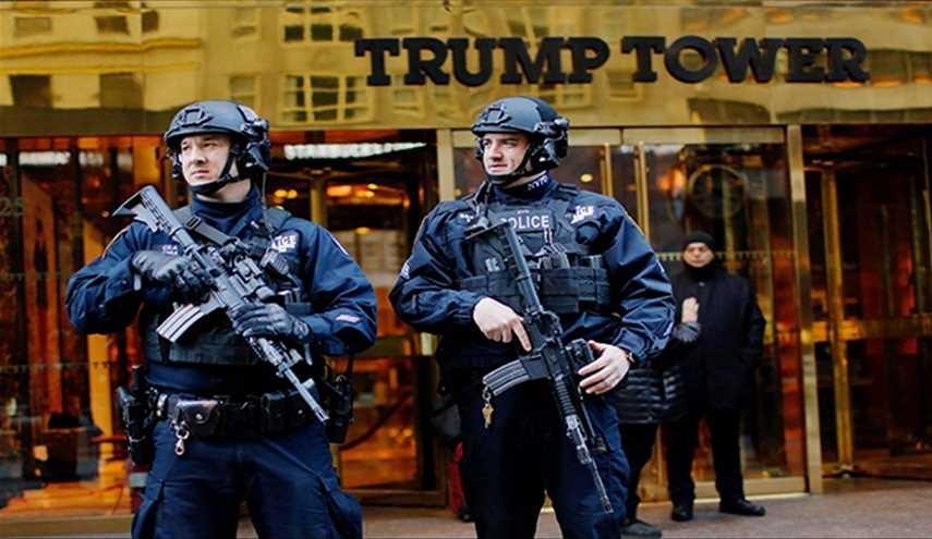 برج ترامب - حماية