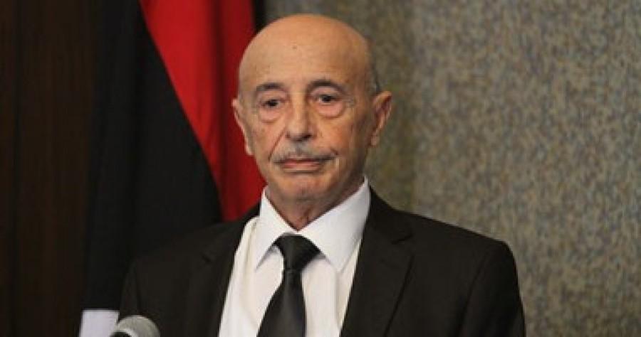"Photo of عقيلة صالح يبحث ""المختنقات الليبية"" مع الجمالي في تونس"