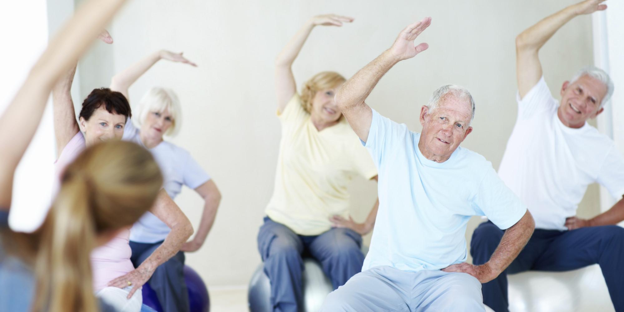 الرياضة لكبار السن