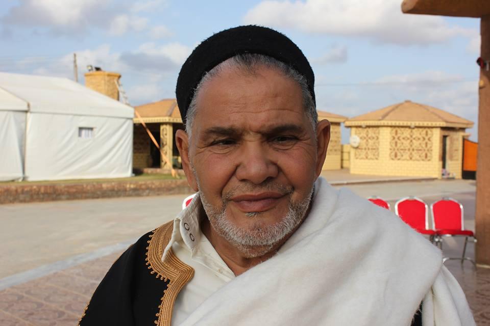 الشيخ عبدالسلام أبو حليقة رئيس مجلس حكماء فزان