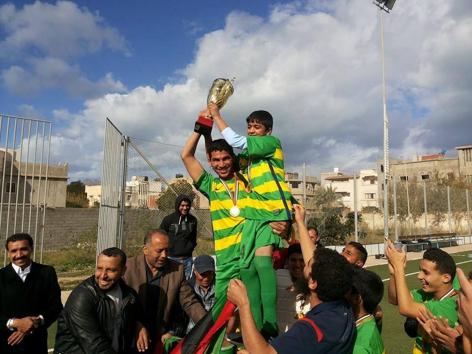 الصباح المصراتي يتوج ببطولة ليبيا للهوكي- الناشئين