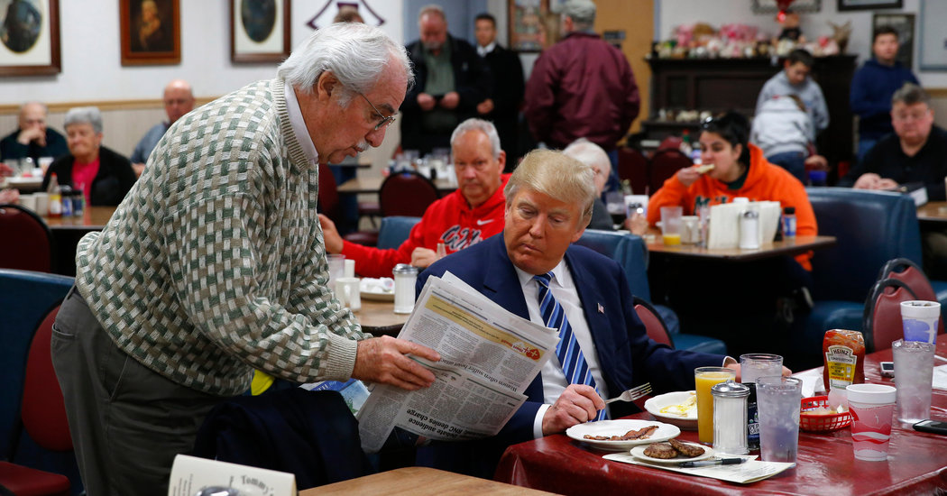 Photo of قائمة طعام ترامب.. قد تُفْسِد العالم. إقرأ لتعرف