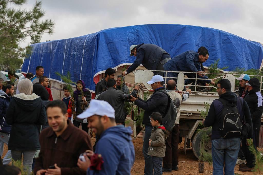"""Photo of طرابلس تحيي اليوم العالمي للشجرة بـ""""حملات تشجير"""""""