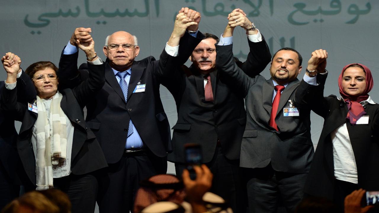 الأطراف الليبية