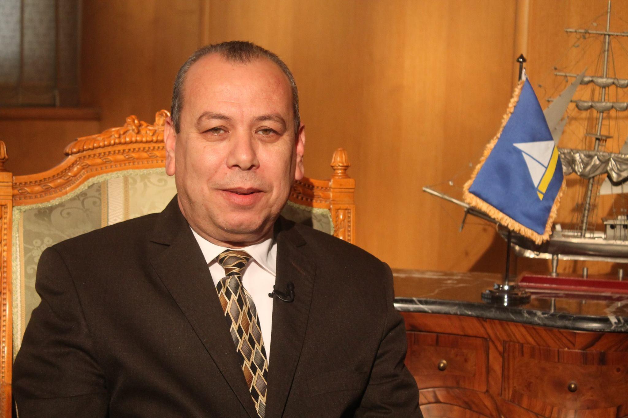 محافظ دمياط المصرية إسماعيل عبدالحميد