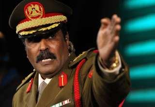 المتحدث باسم الجيش الوطني العقيد أحمد المسماري
