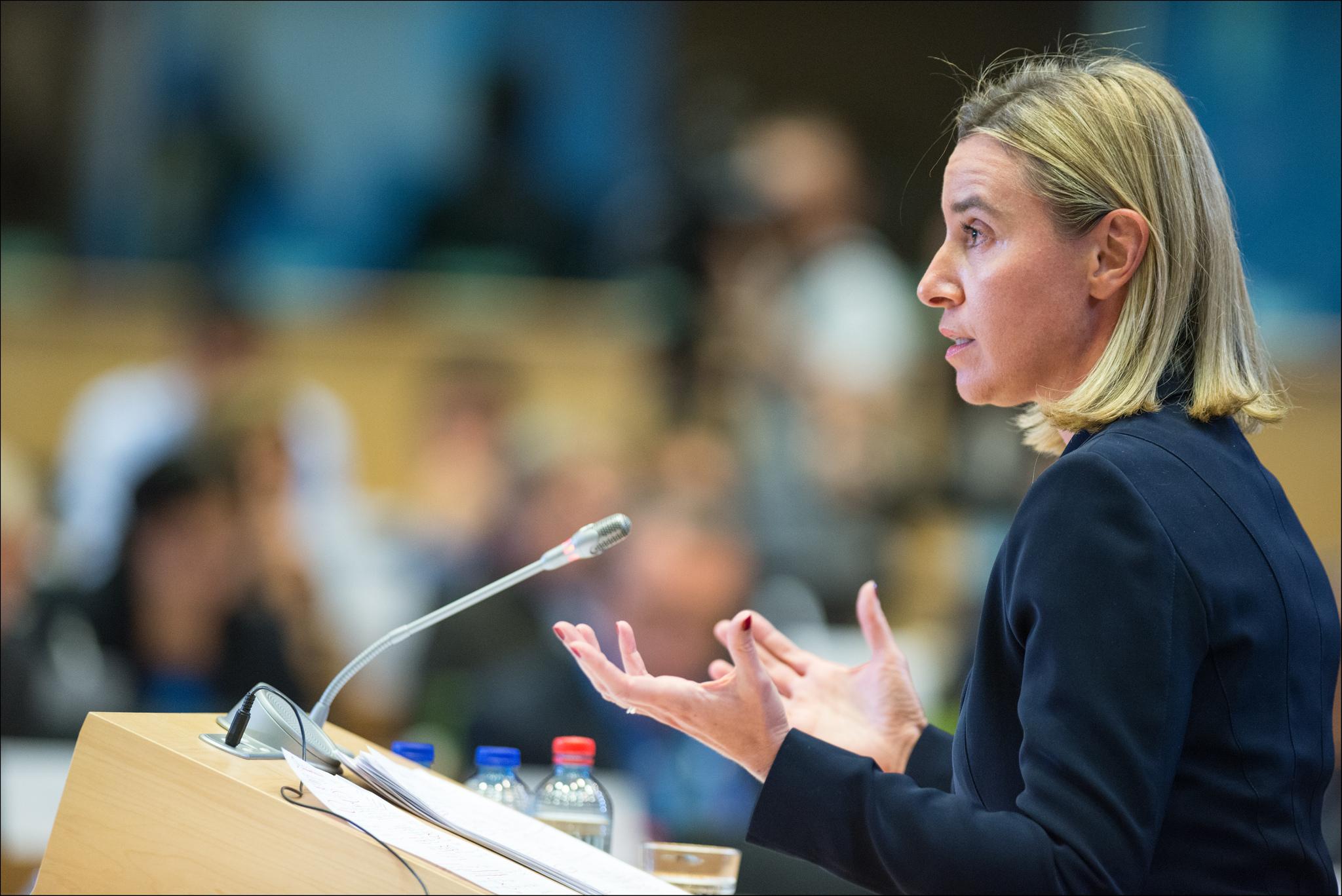 """Photo of موغيريني: """"الأوروبي"""" يعمل من أجل ليبيا """"آمنة ومزدهرة"""""""