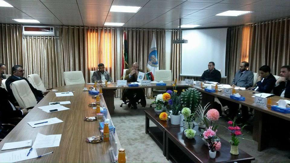 "Photo of ""قوات دعم"" لتأمين كليات جامعة صبراتة"
