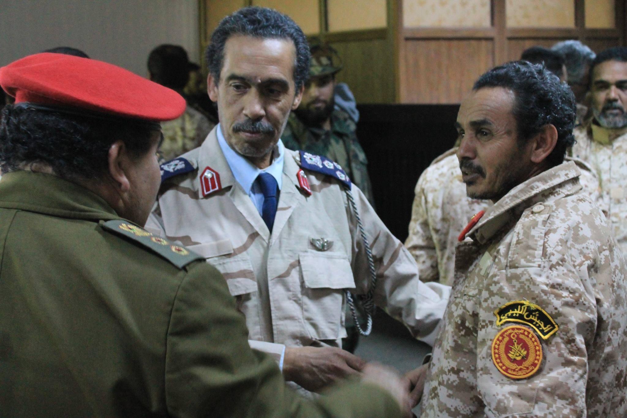 اجتماع استضافه مقر كتيبة أبو بكر الصديق