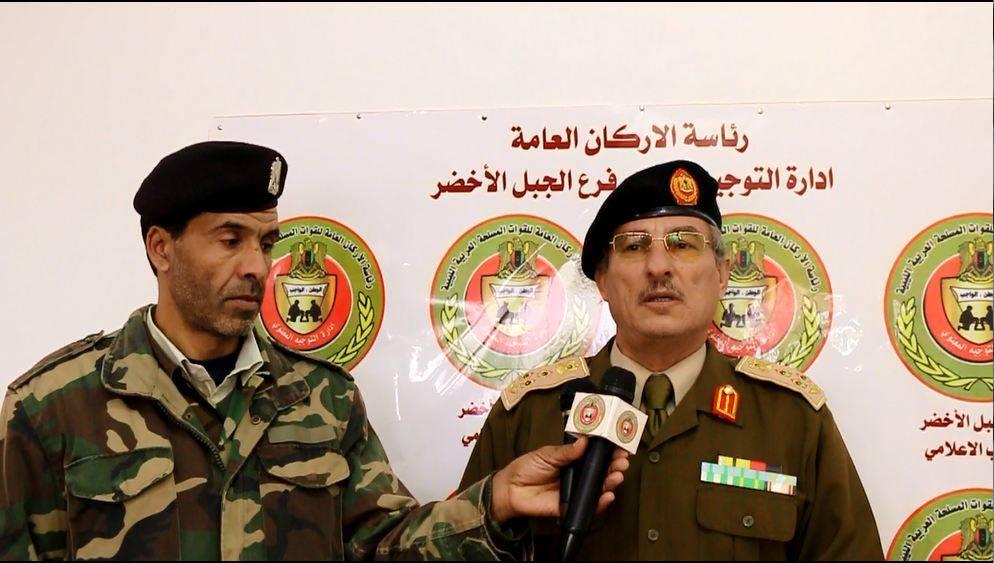 آمر المنطقة العسكرية الشرقية العميد رمضان بوزيد