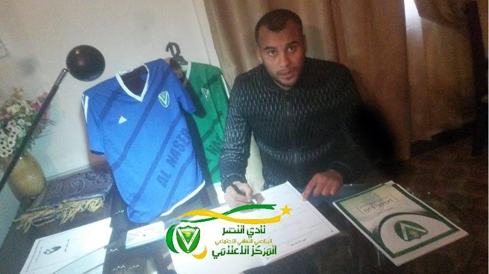 لاعب وسط الاتحاد السابق مروان المبروك