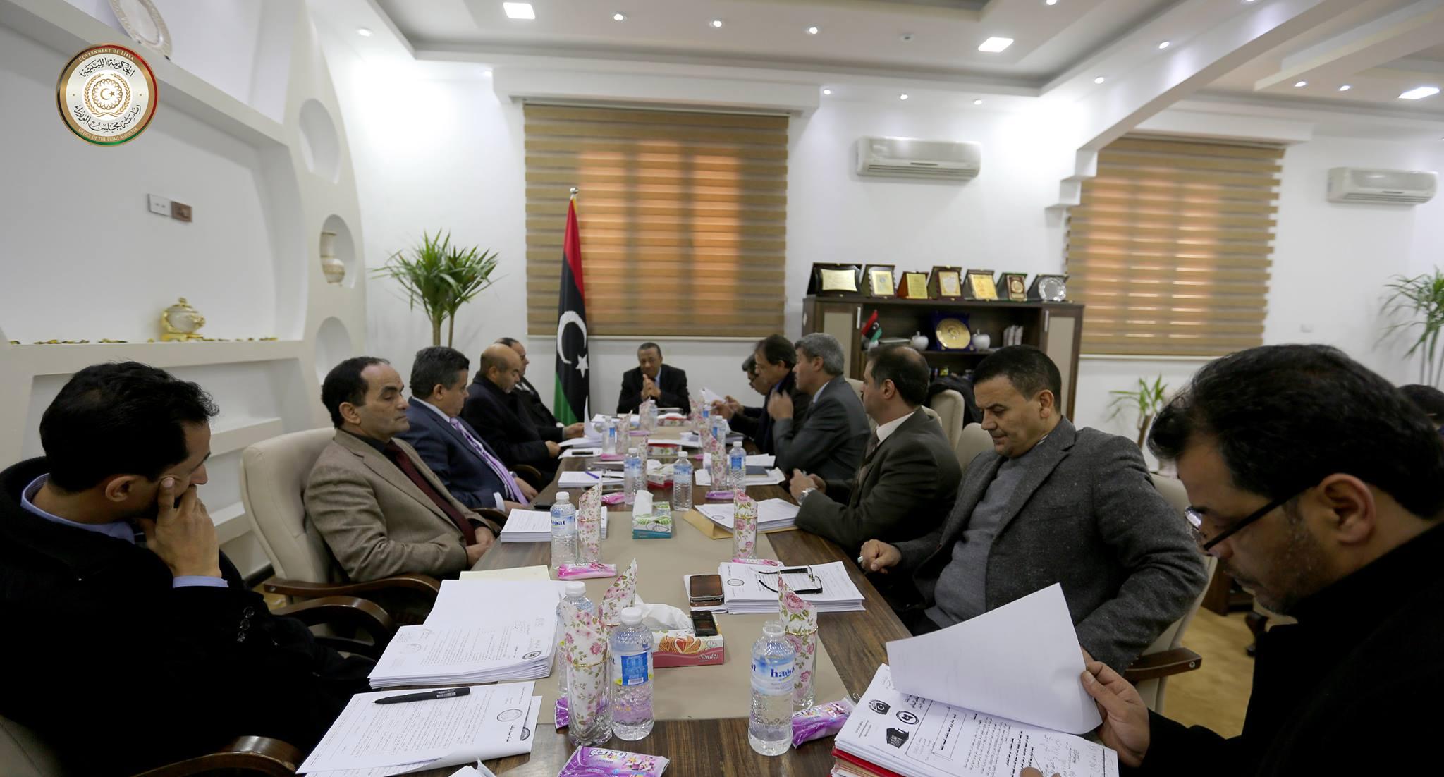 الحكومة الليبية المؤقتة