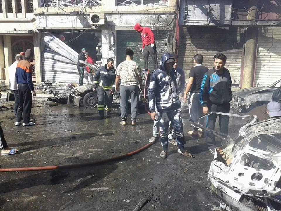 """صورة مصادر أمنية تُرجّح: انفجار """"الماجوري"""" استهدف الوزير شوايل"""