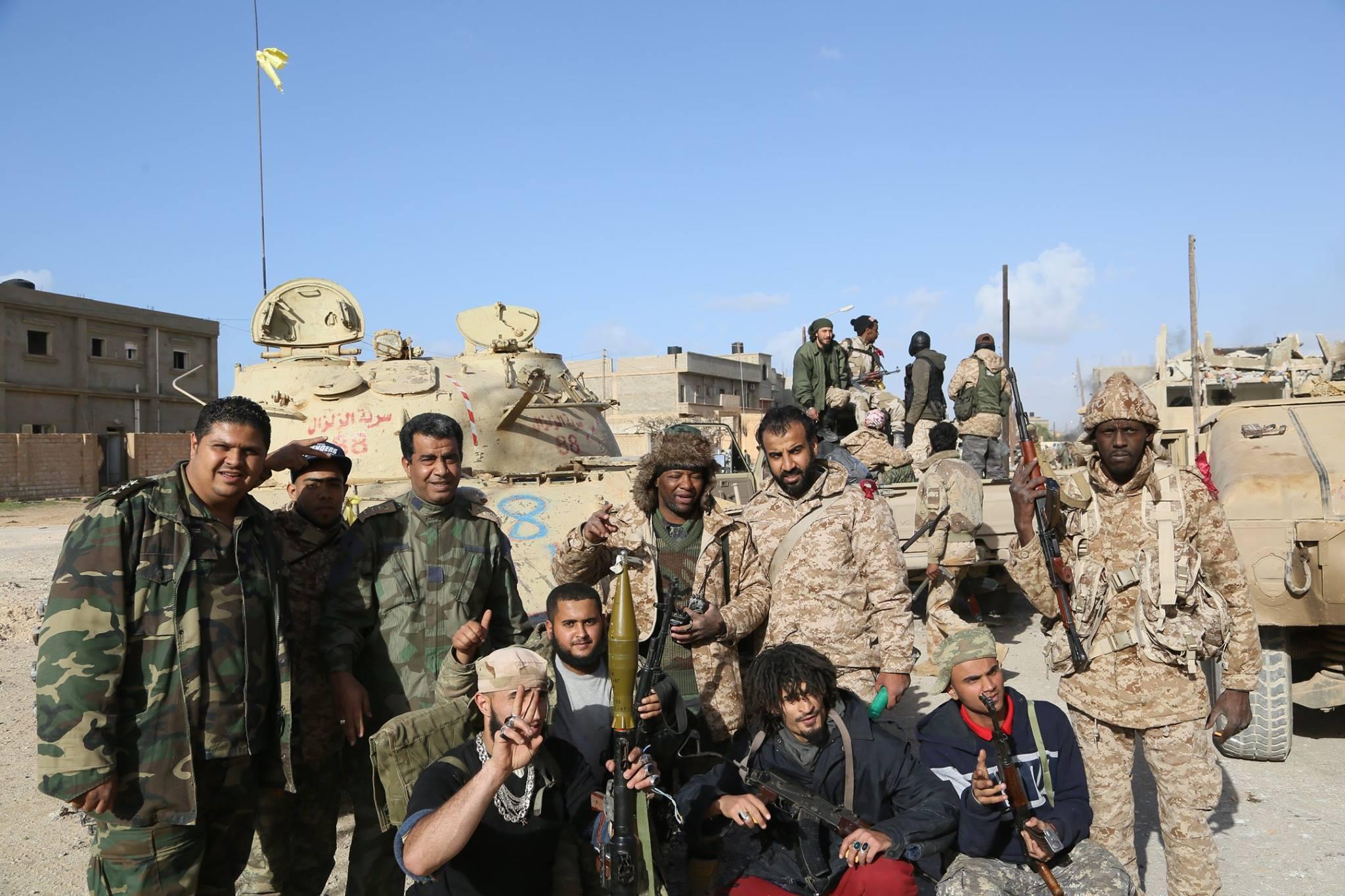 """صورة القابسي لـ218: """"لن نترك ليبيا"""" للجماعات الإرهابية"""
