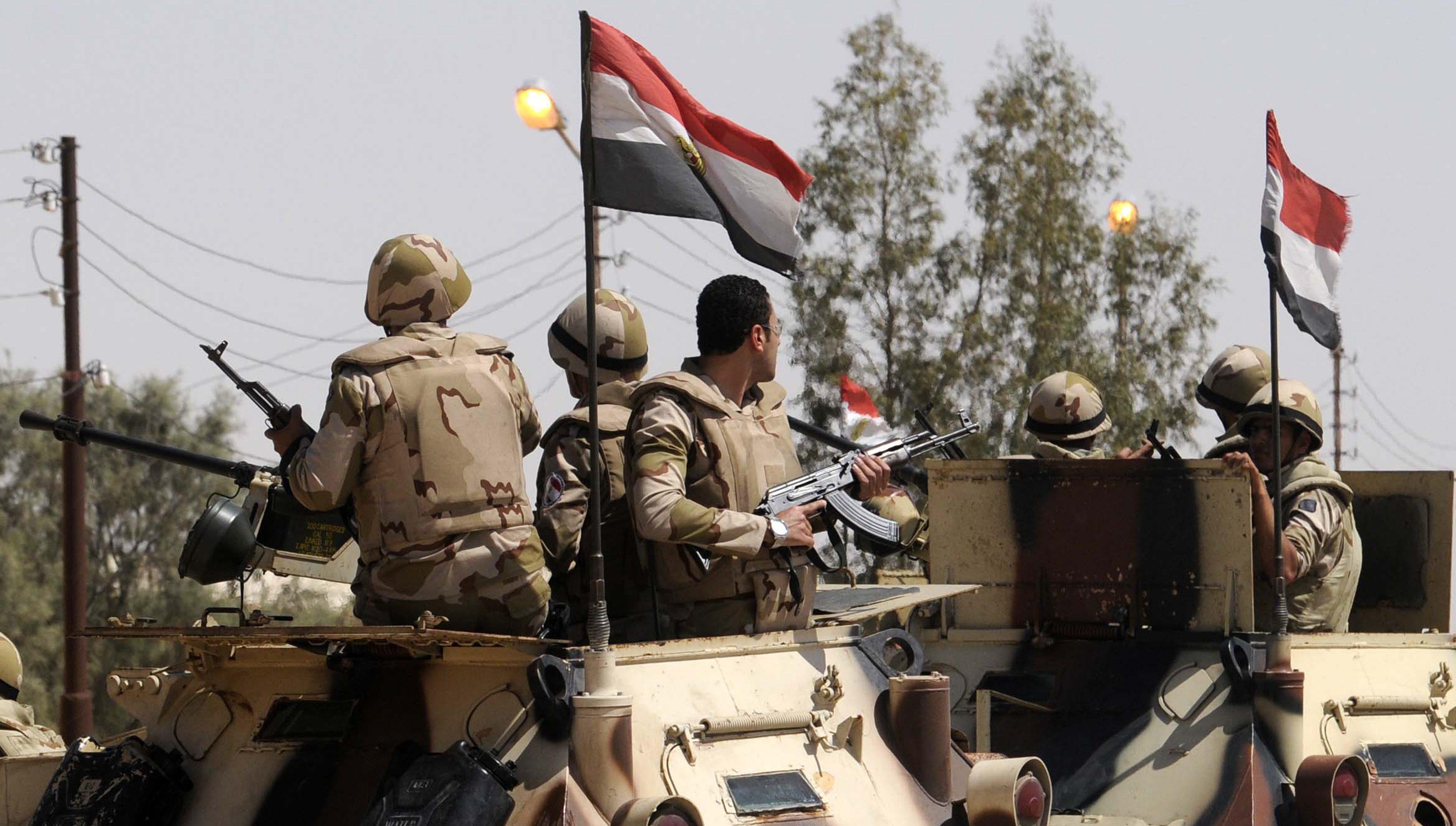 هجوم إرهابي في سيناء المصرية