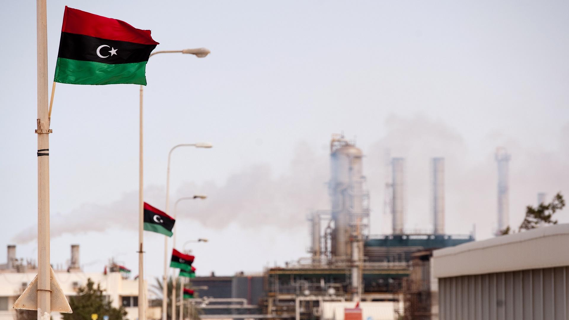 القطاع النفطي الليبي