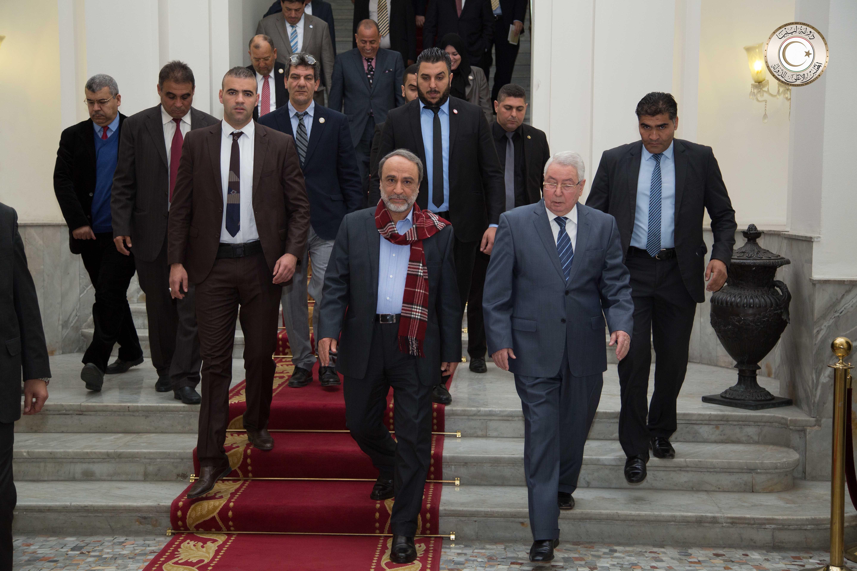 رئيس المجلس الاستشاري عبدالرحمن السويحلي